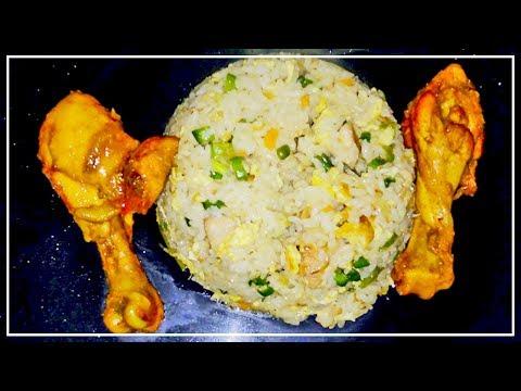 খুব সহজে তৈরি করে ফেলুন মজাদার ফ্রাইড রাইস | Bangladeshi fried rice recipe