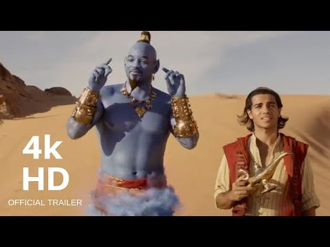 Disney's Aladdin (2019) Official Trailer | Will Smith, Mena Massoud, Naomi Scott