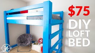 DIY Loft Bed for $75 | How to Build