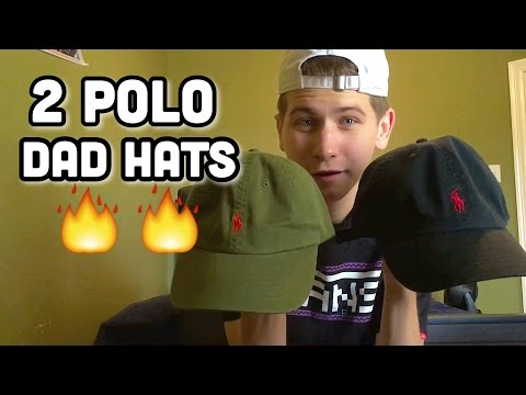 2 POLO DAD HATS!!