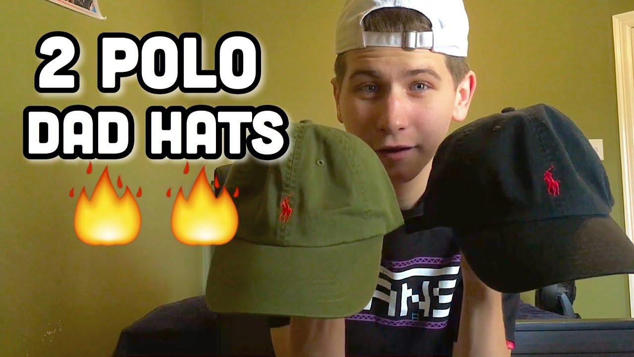 c457e3ea9c7 2 POLO DAD HATS!! - YouTube