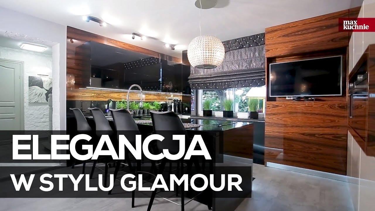 Elegancja W Stylu Glamour Max Kuchnie Studio Galeria Prestige