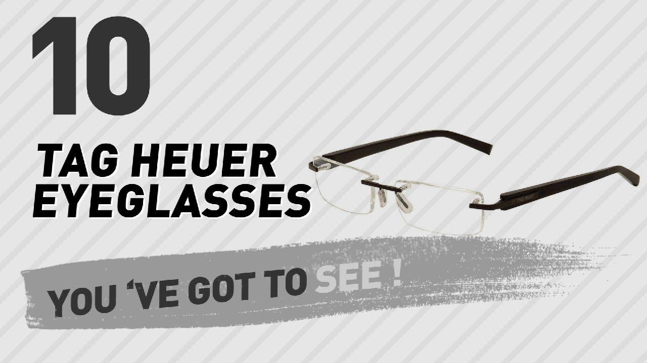 2898275c2da Top 10 TAG Heuer Eyeglasses    New   Popular 2017 - YouTube