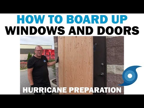 Hurricane Prep | How to Install Plywood Guards for Doors & Windows in 10 Minutes | Fasteners 101