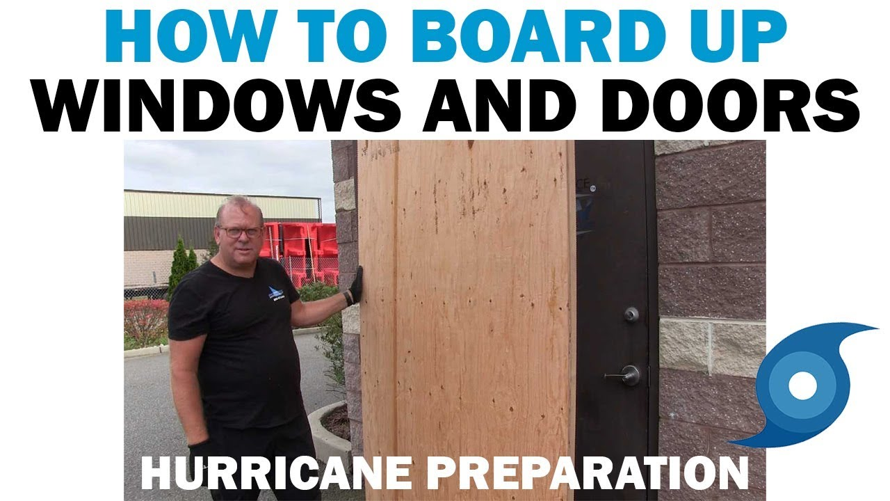 Hurricane Prep | How to Install Plywood Guards for Doors & Windows ...