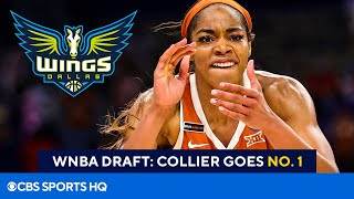 2021 WNBA Draft: Dallas Wings Select Charli Collier Of Texas With The No. 1 Pick | CBS Sports HQ