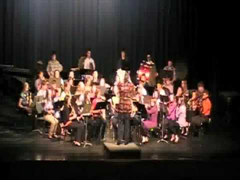 Bunker Hill Eric Osterling performed by Pekin Middle School Band