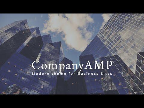 CompanyAMP HTML Page Layout | Mobirise
