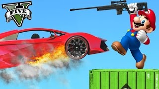 TREMENDO HEADSHOT!! VENGANZA!! MARIO VS SNIPERS GTA V ONLINE - Patty Dragona