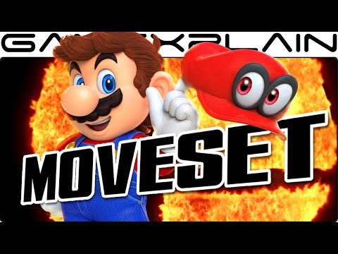 It's Cappy Time! Why Mario Needs Cappy in Super Smash Bros. Switch (Moveset Speculation)