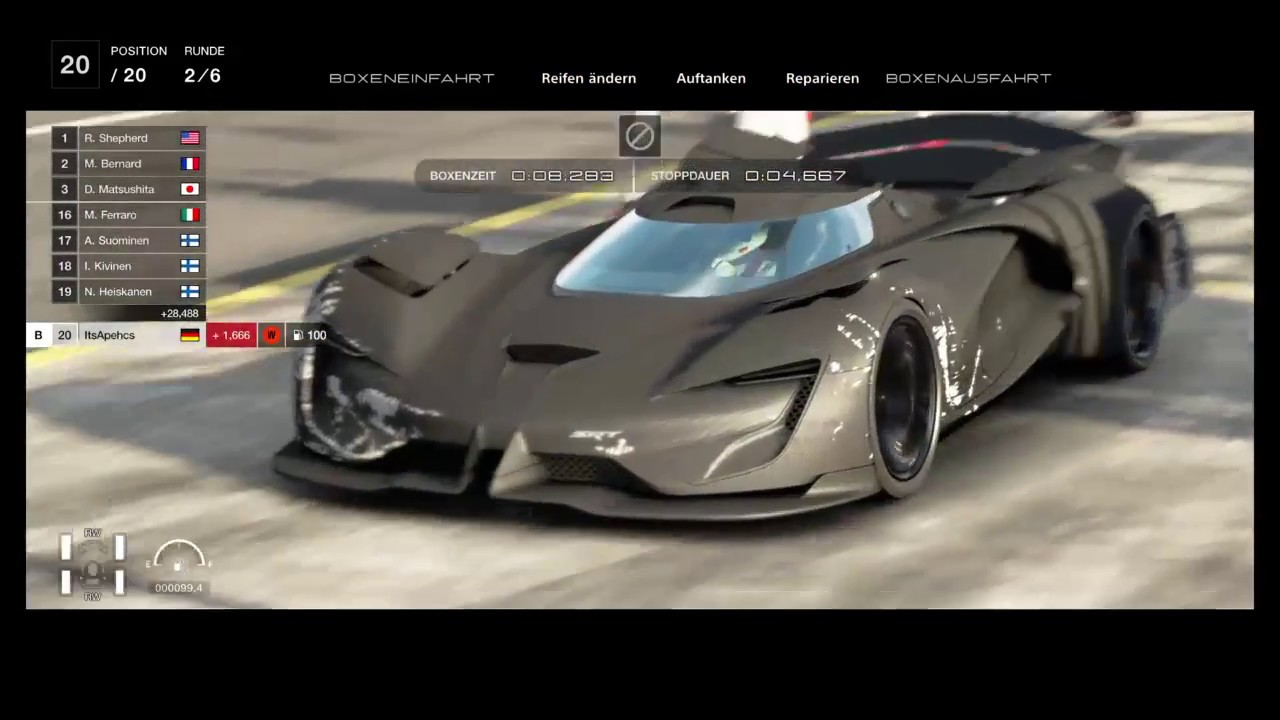 fastest car in gran turismo sport