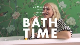 Bathtime with Poppy Delevingne x Jo Malone London