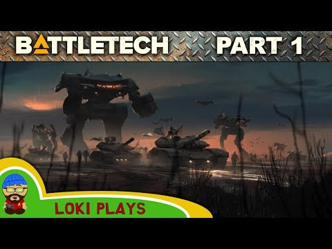 Battletech Let's Play - EP1 - Mech Warriors Assemble! (and Giveaway)