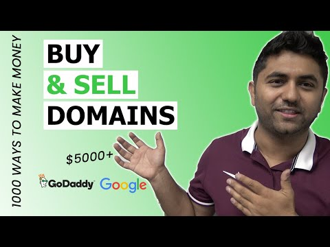Selling $10k Domains To Auto Dealerships  | 1000 Ways To Make Money | E19