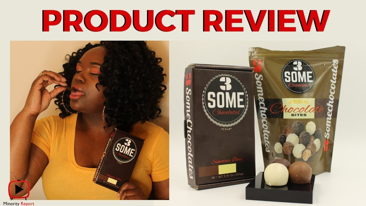 Minority Report | 3SOME CHOCOLATES PRODUCT REVIEW