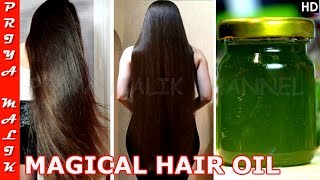 OMG Shocking!! This is What Happens When You Apply This Hair Oil To Your Hair For A Week-Priya Malik