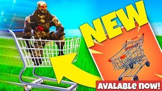 FORTNITE SHOPPING CARTS! NEW PLAY NOW PS4/XBOX ONE/PC