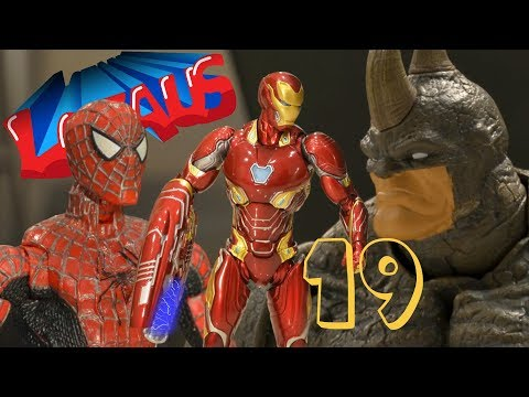 SPIDERMAN  Stop Motion Action Video Part 19