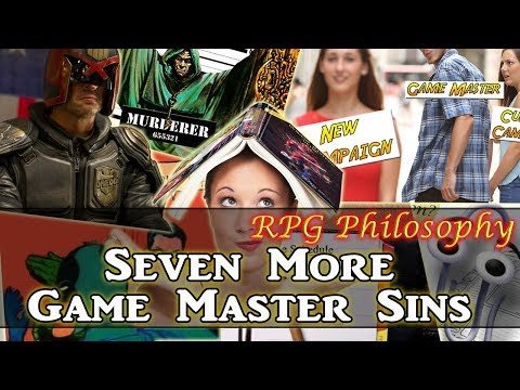 Seven More Game Master Sins