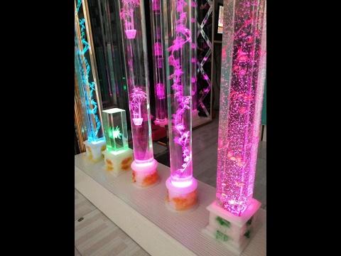 3D узор в стекле лазером