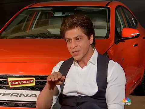 Shah Rukh Khan Interview | SRK for Hyundai | Storyboard 2017 (Part 1) | CNBC TV18
