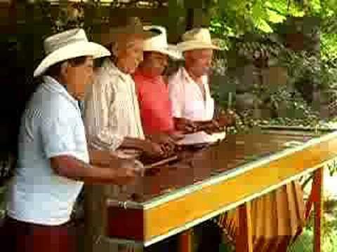Marimba de San Antonio Huista, Huehuetenango, Guatemala
