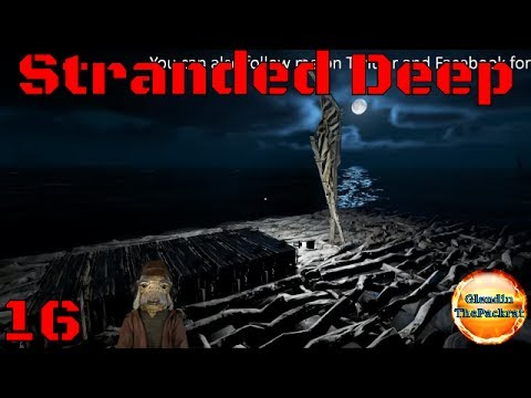 Stranded Deep Streamed Episode 16 Storage barge