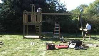 Playset Swingset Timelapse