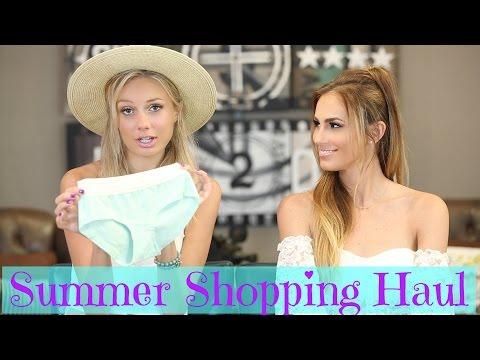Summer Fashion & Beauty Haul ft Melissa Ordway | American Eagle, Abercrombie, Sephora...