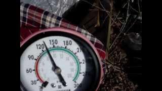 test de compression horsbord johnson 1 cylindre 2 strokes