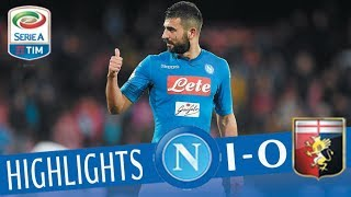 Napoli - Genoa 1-0 - Highlights - Giornata 29 - Serie A TIM 2017/18 streaming