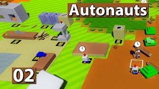 Autonauts | Kuhfladen Bingo! ► #02 Lets Play Autonauts deutsch german