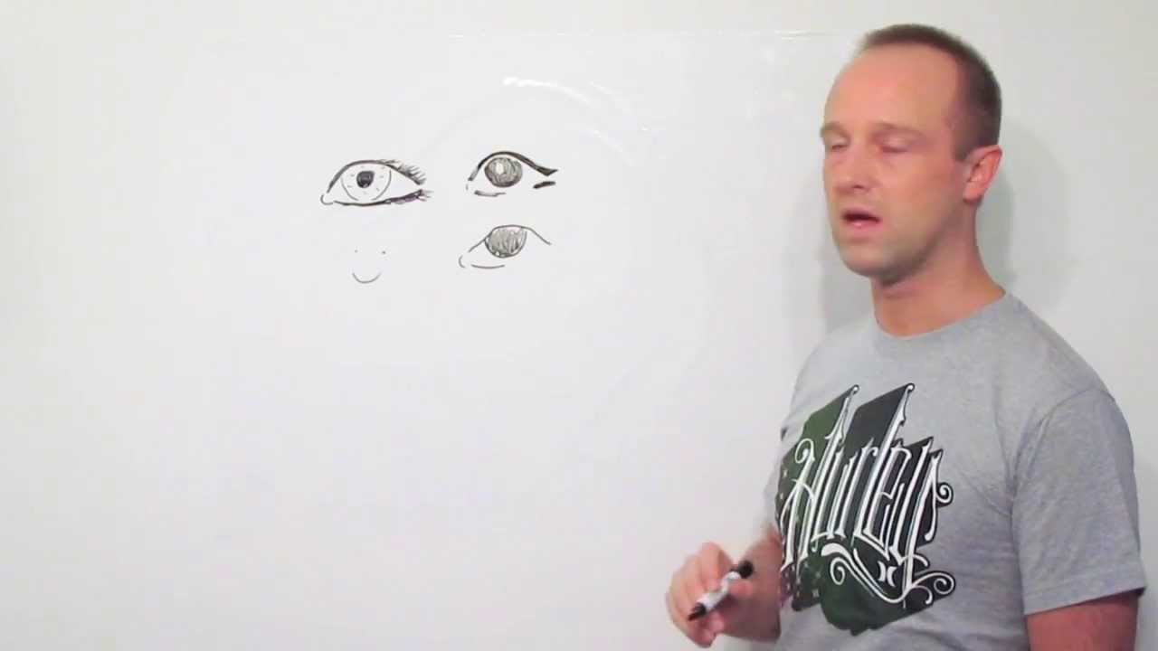 How To Draw A Human Eye  Quick, Clear, Easy Instructions  Let Me Show You  How
