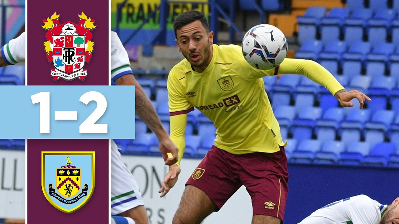 BARNES AND MCNEIL SEAL WIN   HIGHLIGHTS   Tranmere v Burnley