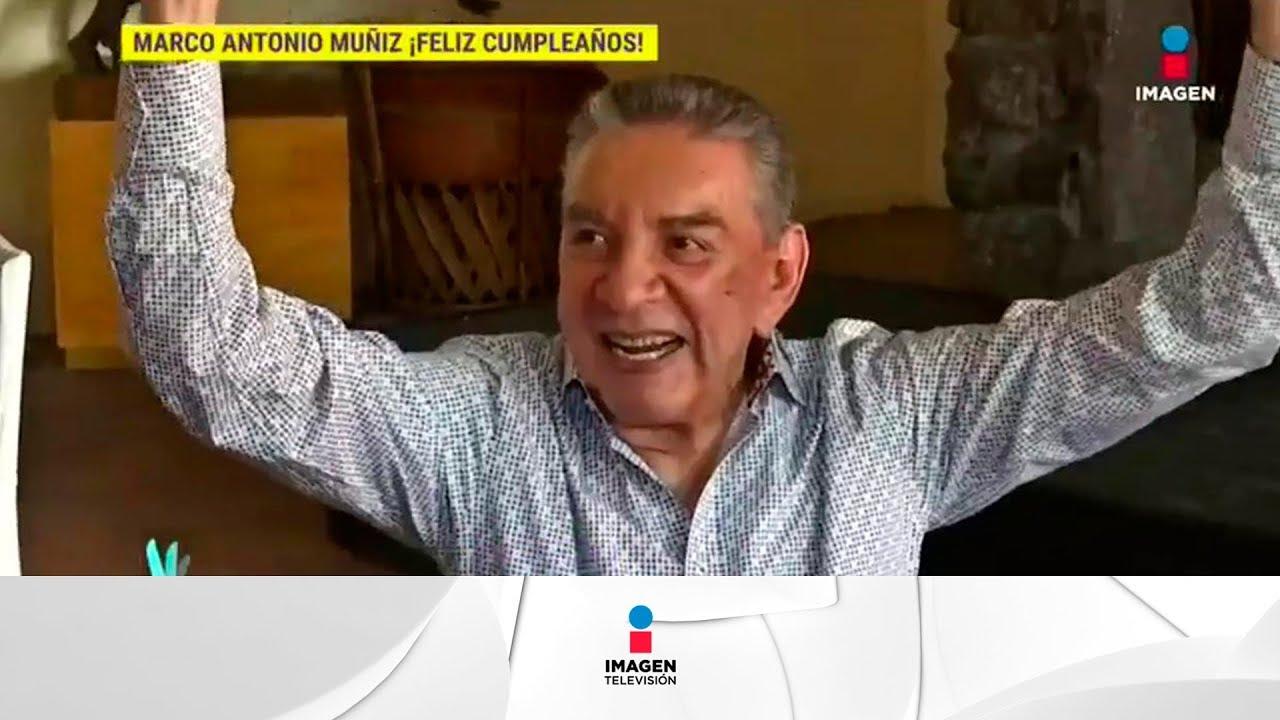Marco Antonio Muñiz cumple 85 años de edad!   De Primera Mano - YouTube