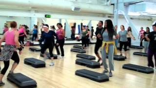San Diego City College Step Aerbics coach Bodnar spring 2012.mp4