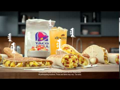 People Want׃ Dollar ¦ 2016 Taco Bell® $1 Morning Value Commercial