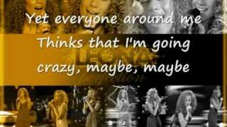 Leona Lewis Bleeding love karaoke