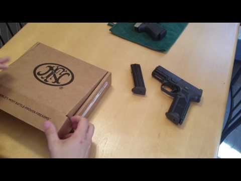 First Impressions and Field Strip of the FN (Fabrique Nationale) 509 Pistol