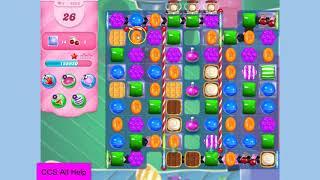 Candy Crush Saga Level 4956 NO BOOSTERS Cookie screenshot 5