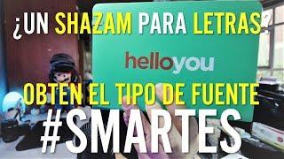 ¿COMO SACAR EL TIPO DE LETRA DE UN LOGO? ¡¡Hazlo con tu smartphone!! - #SMARTES