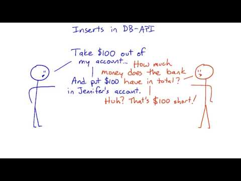 Inserts in DB API - Intro to Relational Databases
