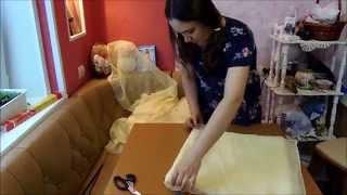 видео Персиковый букет невесты -фото обзор и мастер-класс
