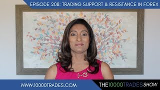 Episode 208: Trading Support and Resistance in Forex-Training Strategy