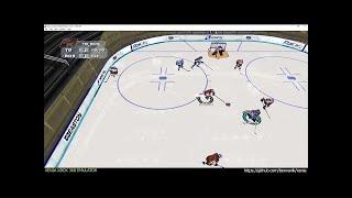 Xenia Xbox 360 Emulator - NHL 2K6 ingame! (4260e38 May 15 2017)