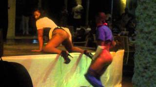 Repeat youtube video Dance Contest at Hedonism II Resort Pt1