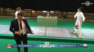 Novi Sad European Championships 2018 Day06 WE GER vs RUS