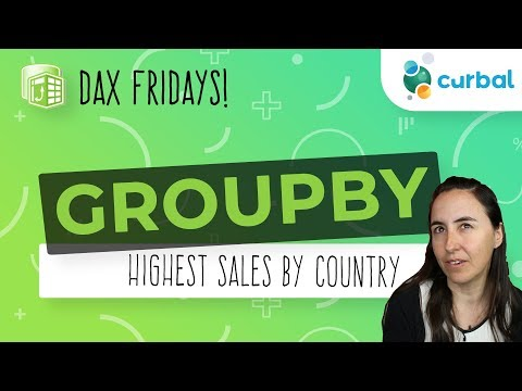 DAX Fridays! #77: GROUPBY, CURRENTGROUP
