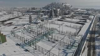 Osona nevada a vista de dron - 26 i 27-02-18
