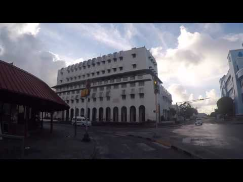 La Barbade Bridgetown, Centre ville, Gopro / Barbados Bridgetown City center, Gopro